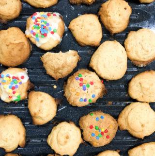 persimmon cookies, fresh fruit cookies recipe