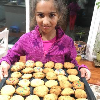 Baking with kids: Persimmon Cookies