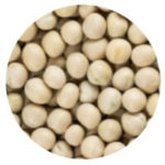 dried white peas in Hindi vatana or sookhe matar