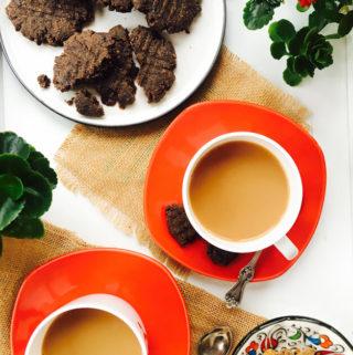 Ragi Cookies – Eggless and Vegan Finger-Millet cookies