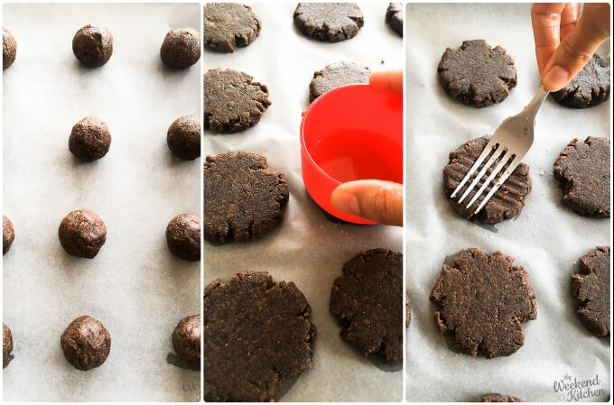 How to make Ragi cookies, eggless finger millet cookies