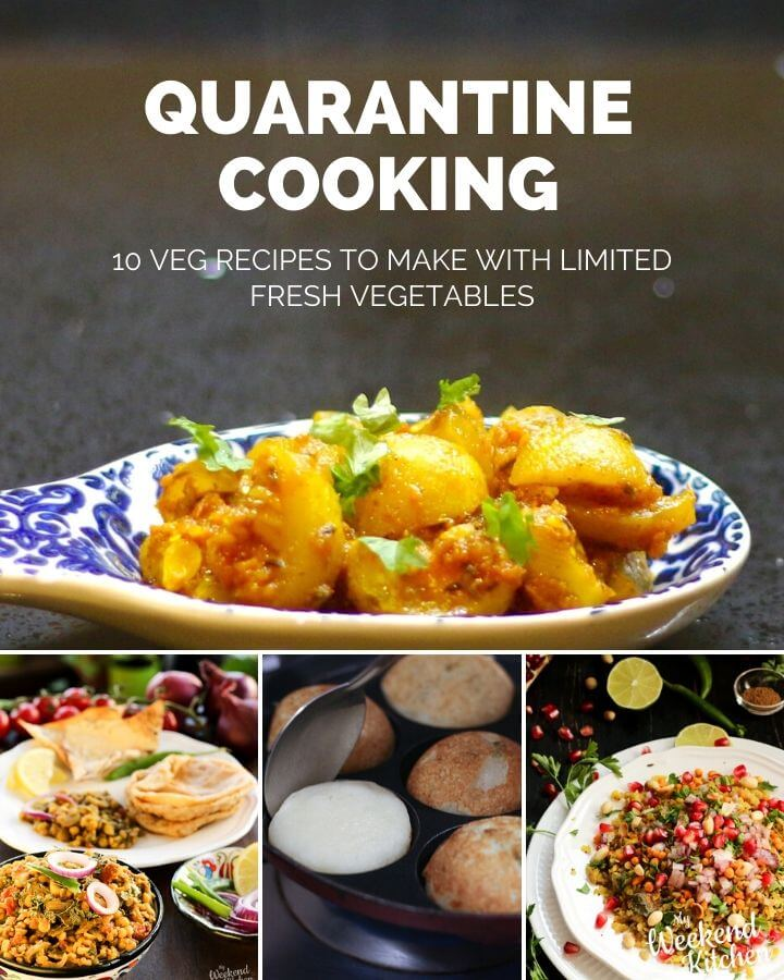 quarantine cooking, recipe ideas to cook under lockdown, easy recipes with little fresh vegetables