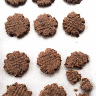 ragi biscuits, finger millet cookies