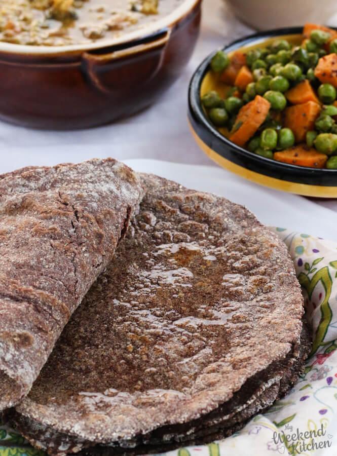 Ragi roti, finger millet recipe, health benefits of ragi