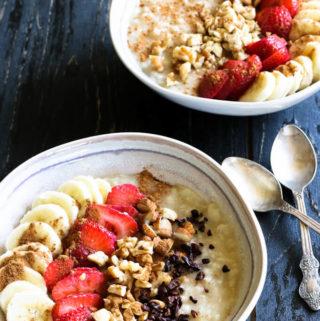 How to make simple oatmeal