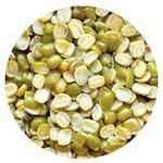 Split green gram in Hindi Moong dal chilka