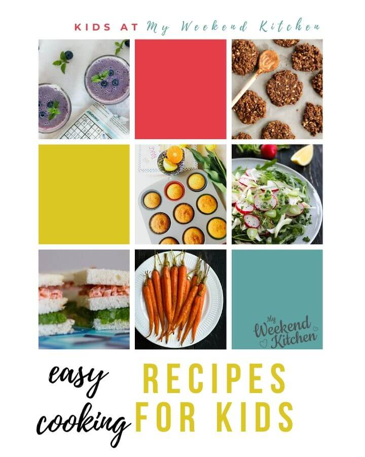 easy cooking recipes for kids, kids in kitchen