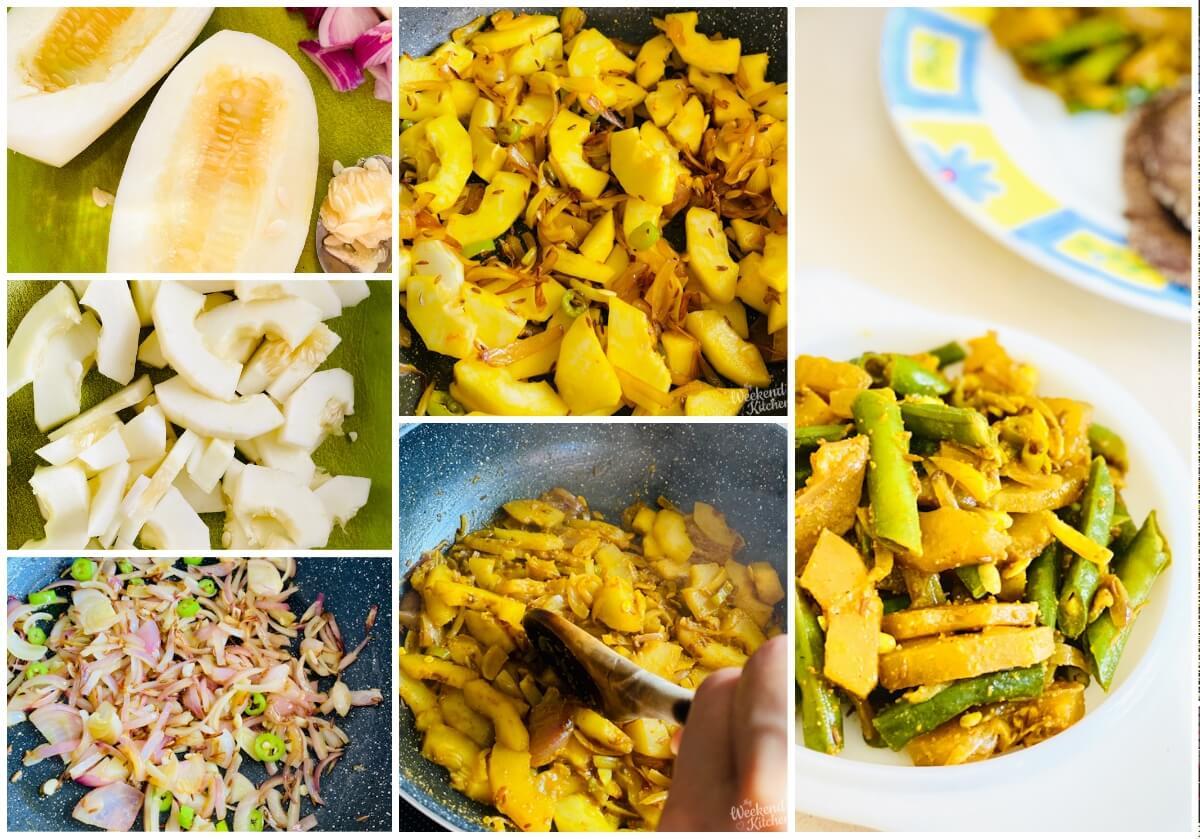 how to cook Rajasthani Kachri ki sabzi