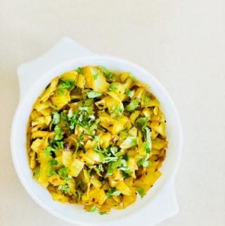 Indian Cabbage Stir-Fry | Patta Gobhi ki Sabji