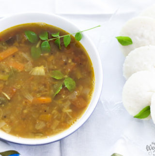 How to make Sambar | South Indian lentil stew