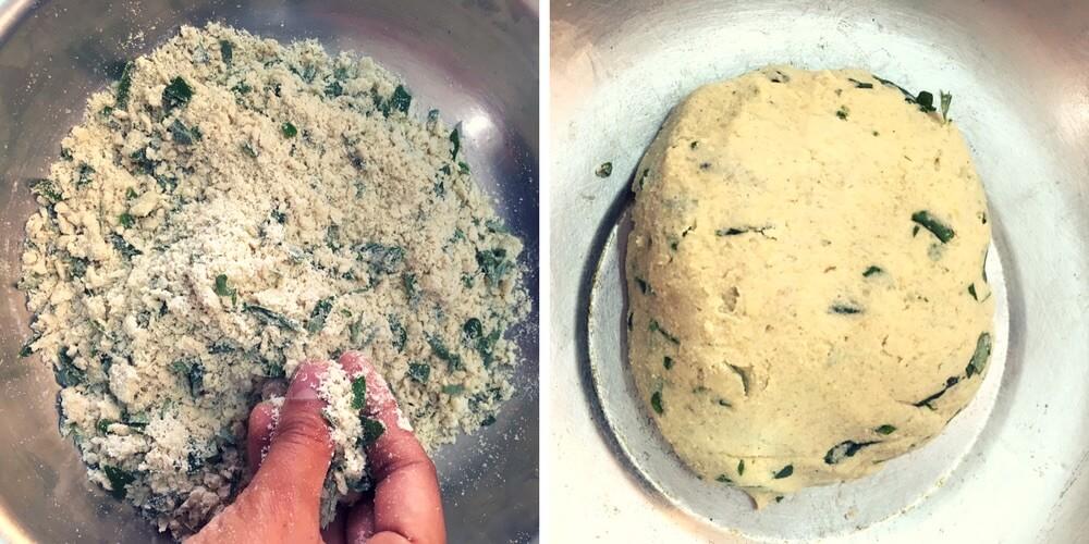 how to knead Jowar aata