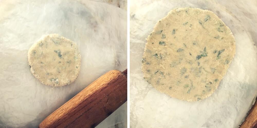 How to roll gluten-free flour roti, how to roll jowar roti