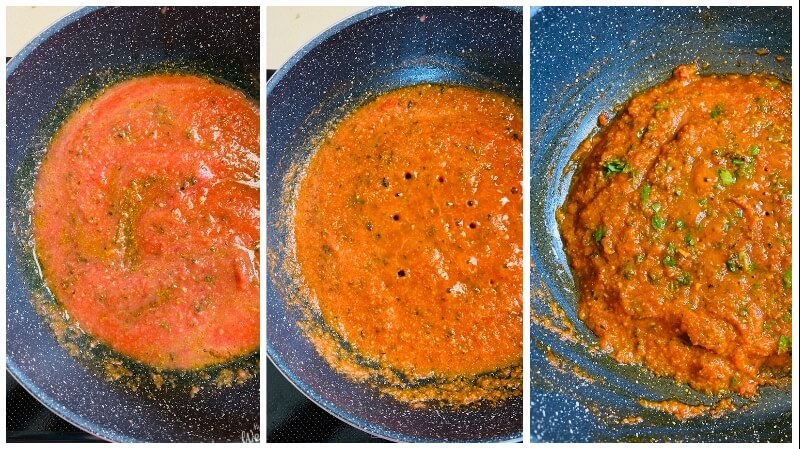 how to cook tomato paste