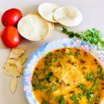 Rajasthani Papad ki sabji, traditional Indian recipes, poppadum curry