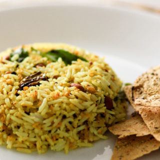raw mango rice, south indian rice recipes, recipes with leftover rice