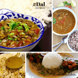 Collection of Dal recipes on My Weekend Kitchen by Ashima