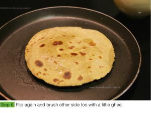 Plain parantha - step by step- IE.006