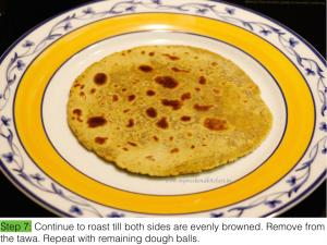 Plain parantha - step by step- IE.007
