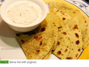 Plain parantha - step by step- IE.008