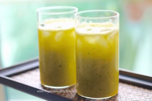 Mango and Lime Cooler