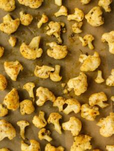 lemon roasted cauliflower recipe